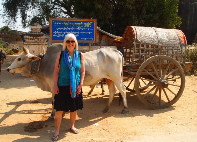Me with the oxcart