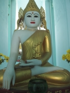 Buddhas inside Pondaw Paya