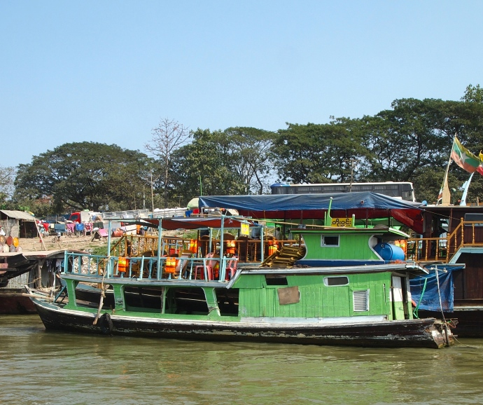 the Mandalay jetty