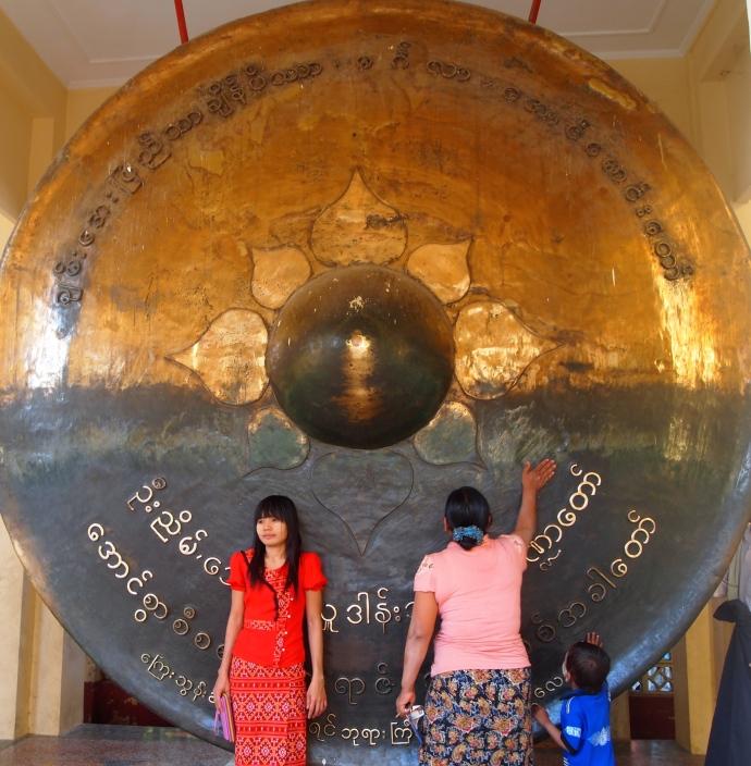 Gong at Mahamuni Paya