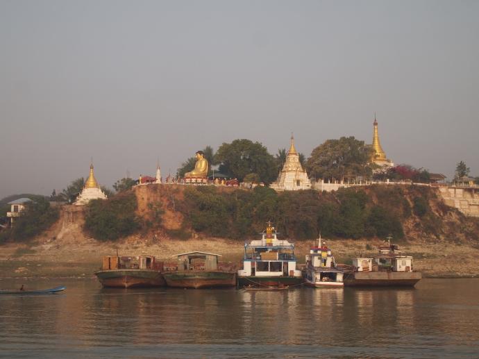 pagodas and Buddhas