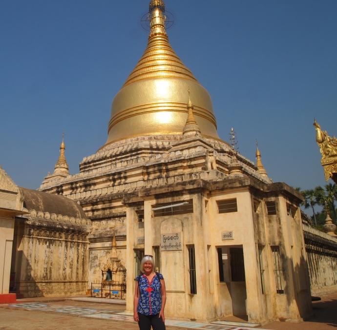me at Myazedi (Emerald Stupa)
