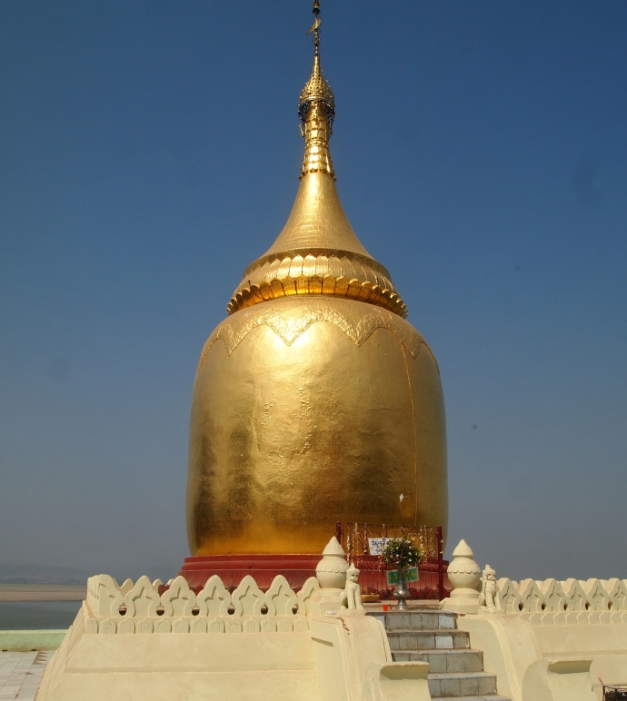 Bupaya's cylindrical Pyu-style stupa from the 3rd century