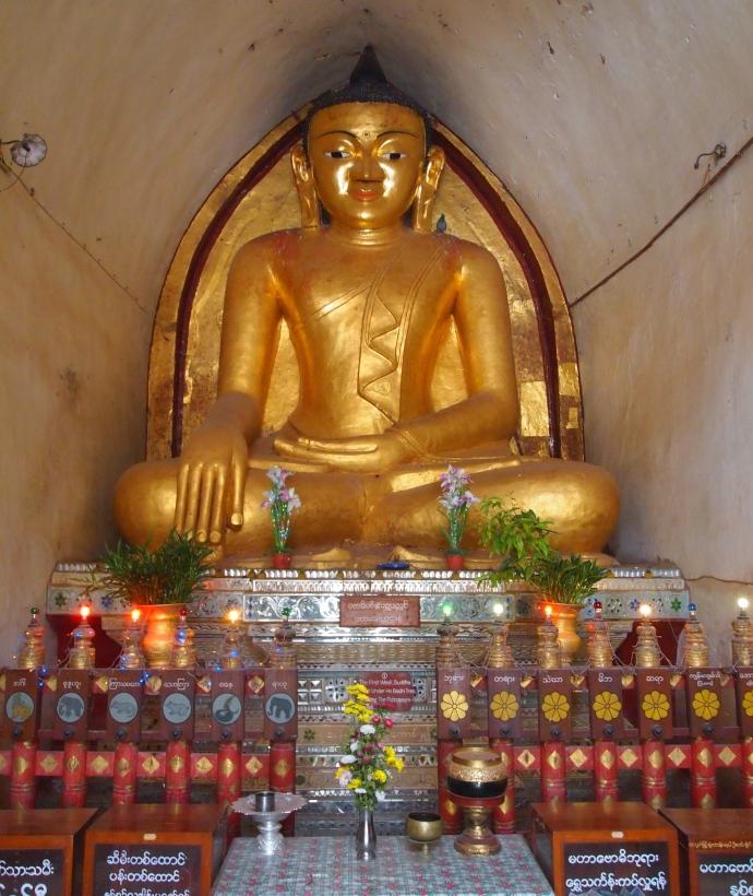 Buddha at Mahabodhi Paya