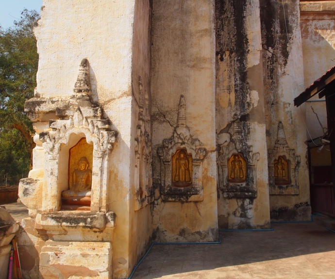 niches at Mahabodhi Paya