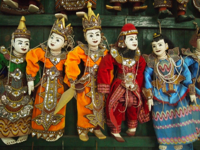 Puppets at the Handicraft shop