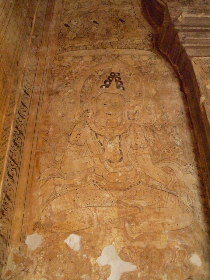 Jataka frescoes at Thambula Pahto