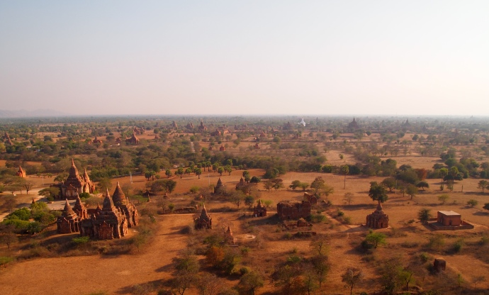 the South Plain of Bagan