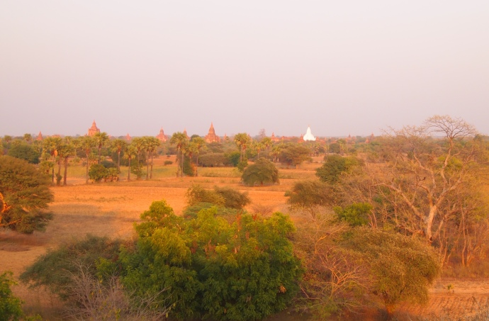 Central Plain of Bagan from Pyathada Paya