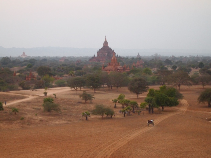 temples on the Central Plain of Bagan