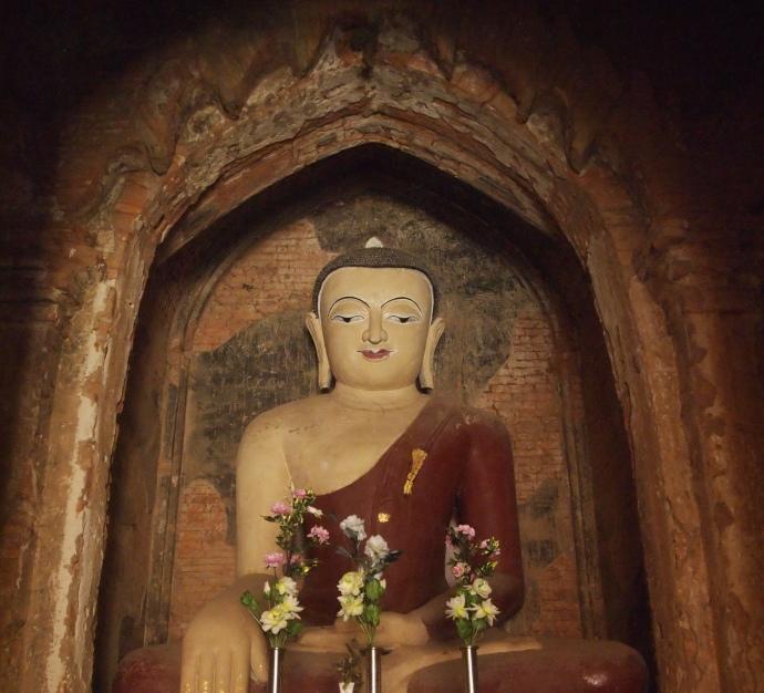 Buddha at Seinnyet Nyima Paya