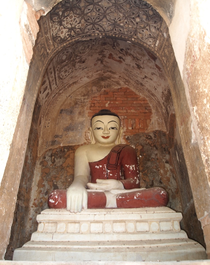 Buddha in unknown temple