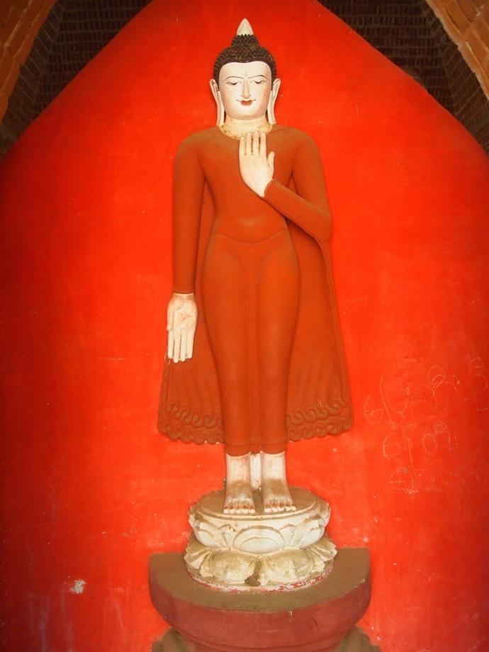 figure in Shwe San Daw Pagoda