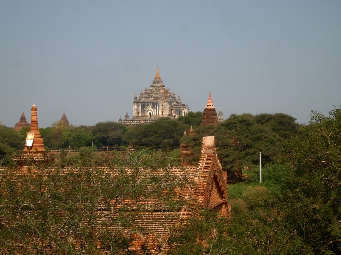 Shwe San Daw Pagoda from a distance