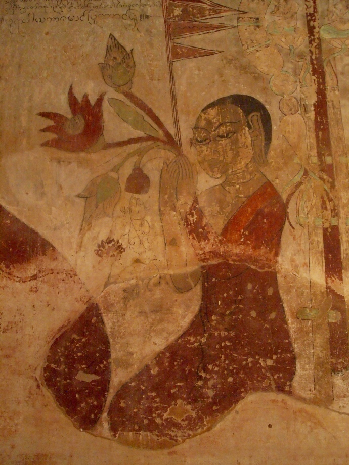 Sulamani Pahto frescoes