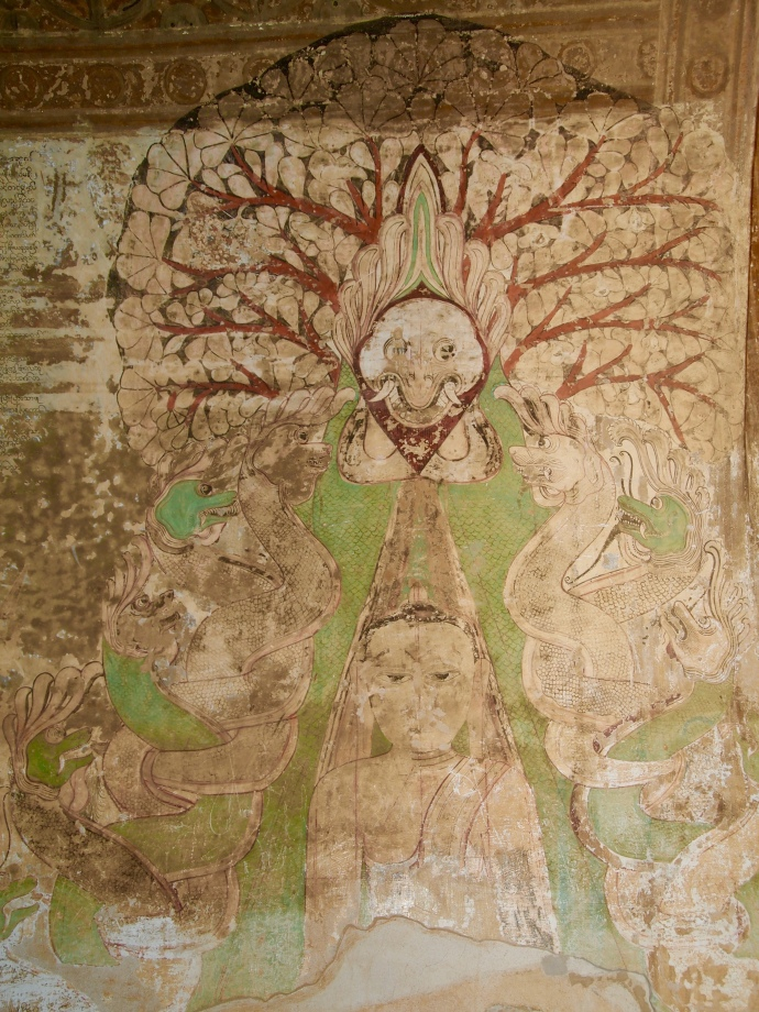fresco in Sulamani Pahto
