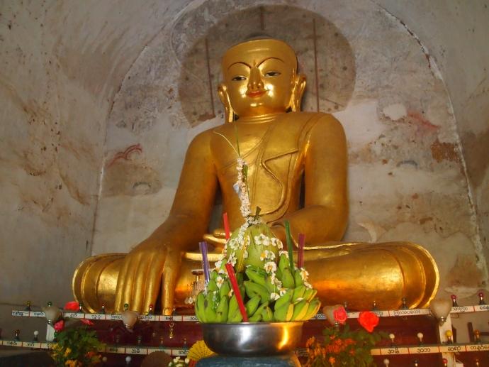 Buddha at Gawdawpalin Phaya