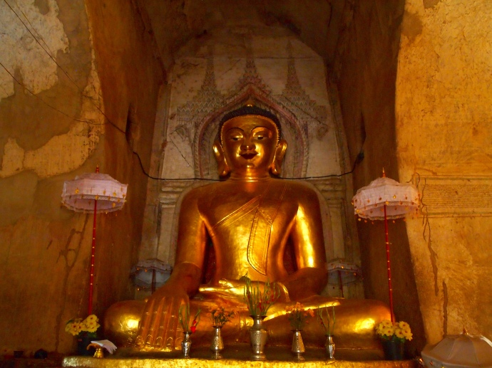 Buddha at Shwe-Gu-Gyi