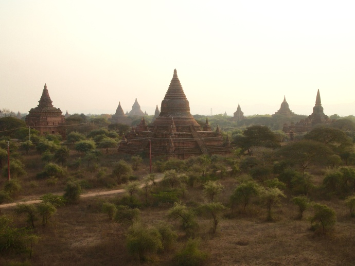 views from Shwe-Gu-Gyi