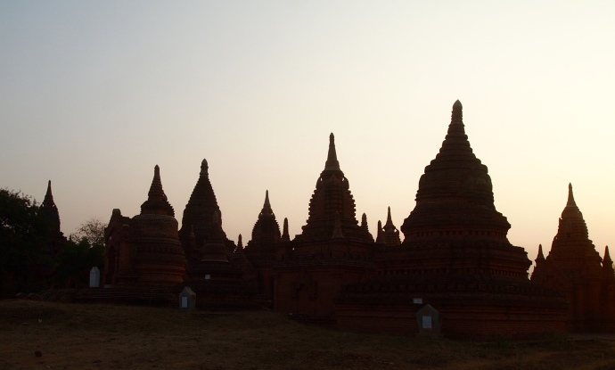 temple silhouettes