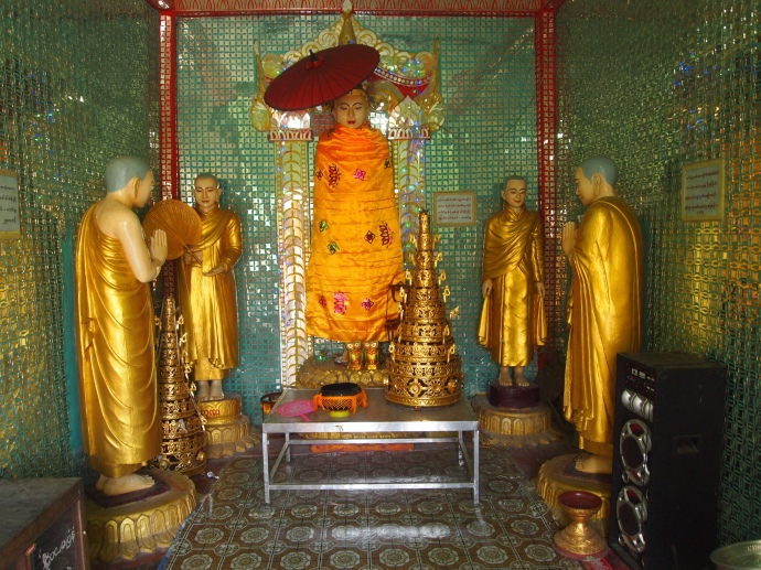 shrines at the summit