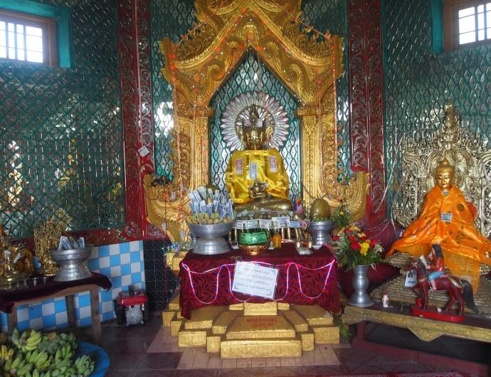 at the summit of Thaung Kalat