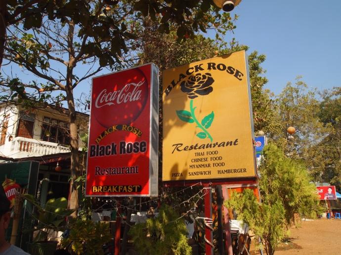 The Black Rose in Bagan