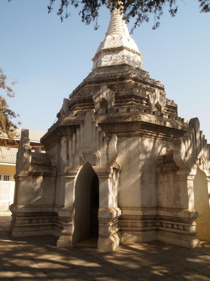 small stupa near The Black Rose