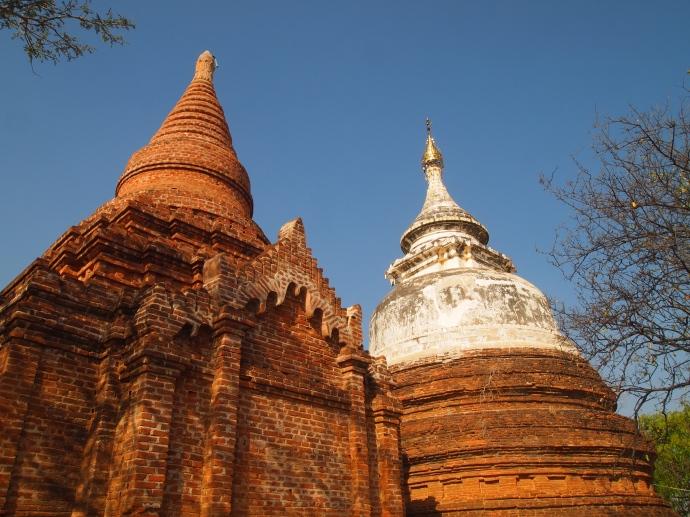 random temples and pagodas