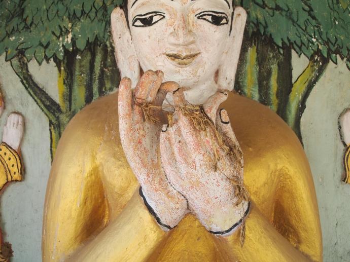 Buddha up close