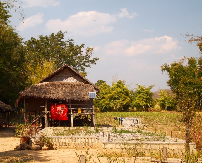 house outside of Nyaungshwe