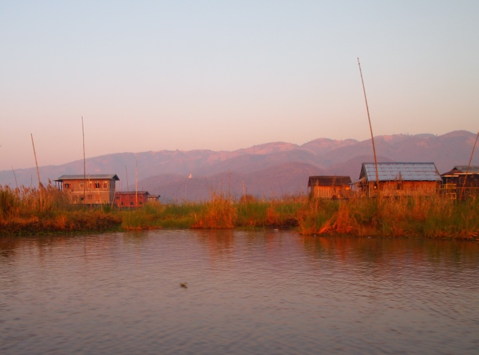 shores of Inle Lake
