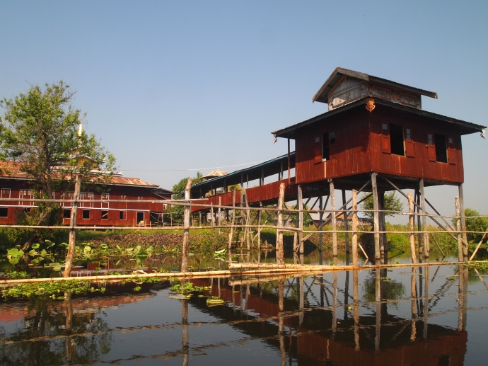 villages of Inle Lake