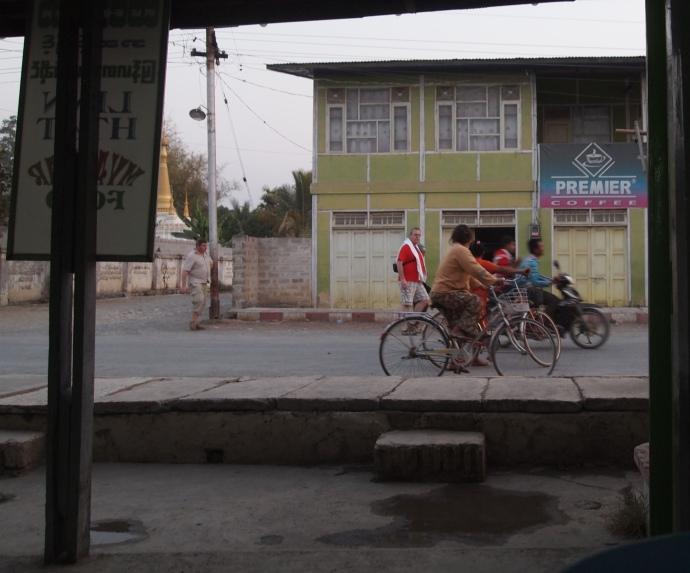 view from Lin Htett Myanmar Food
