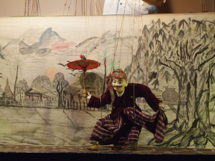 Aung Puppet Show