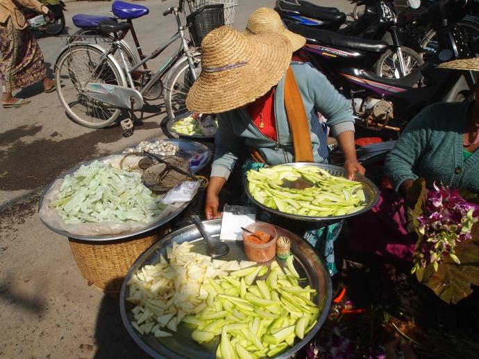 Mingala Market in Nyaungshwe