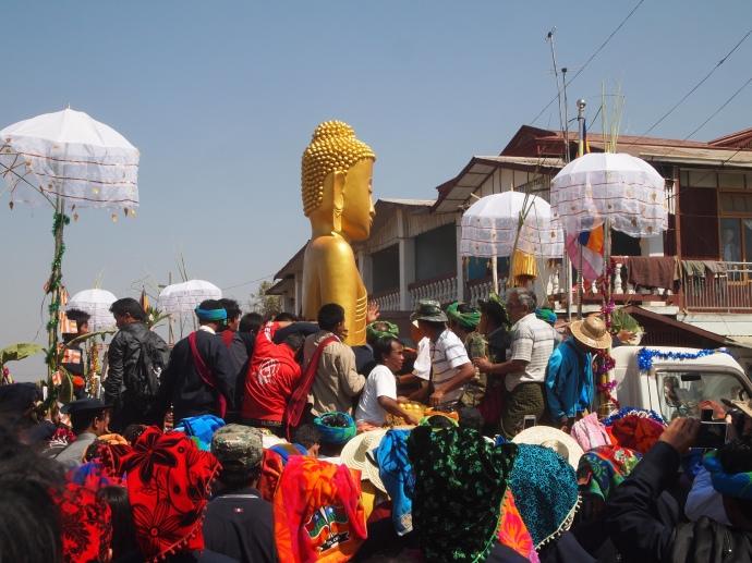 Buddha all spiffed up