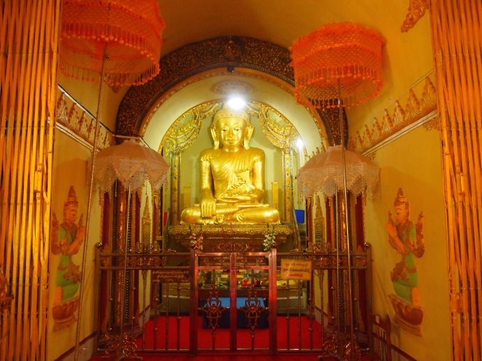 Buddha at Shwe Inn Thein Paya