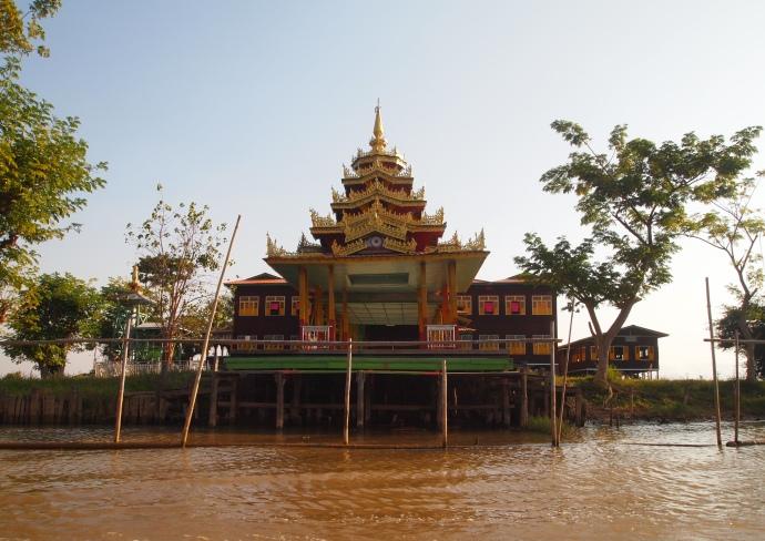 multi-tiered pagoda