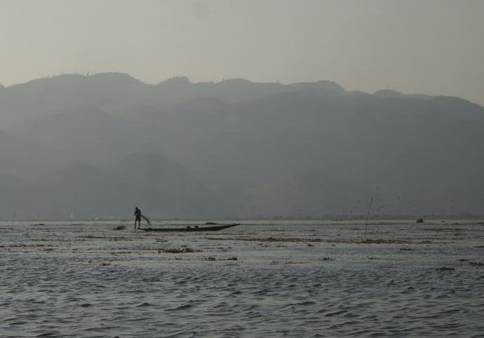 evening on Inle Lake