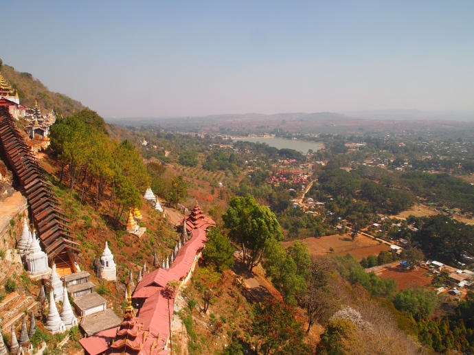 view of Shwe Oo Min Natural Cave Pagoda, Pindaya