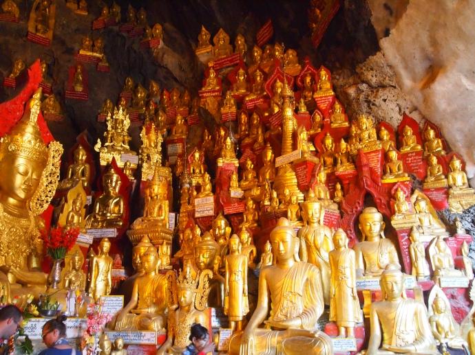 Buddhas at Shwe Oo Min Natural Cave Pagoda, Pindaya