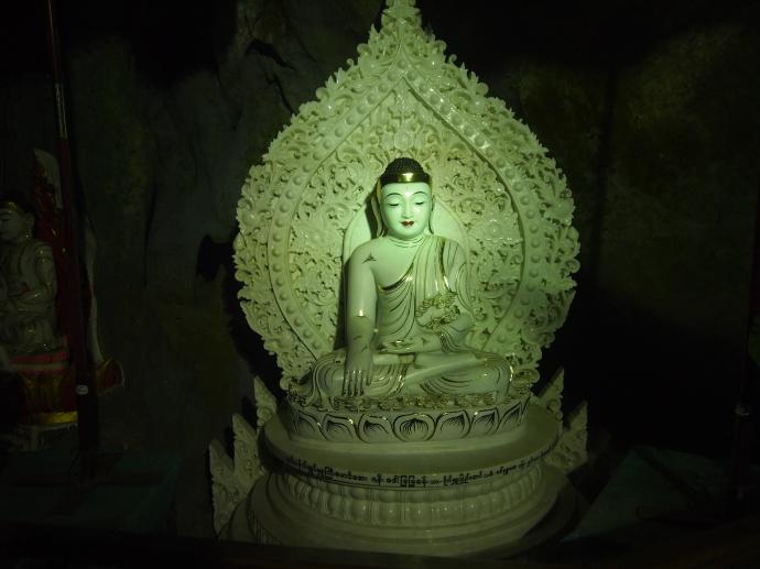 intricate Buddha