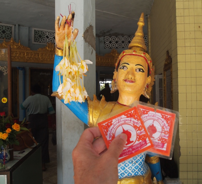 Fortunes at Sule Paya
