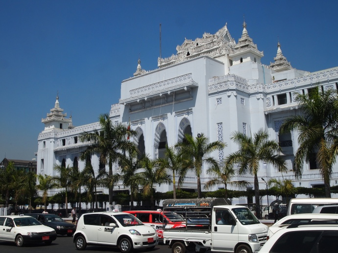 Yangon's City Hall