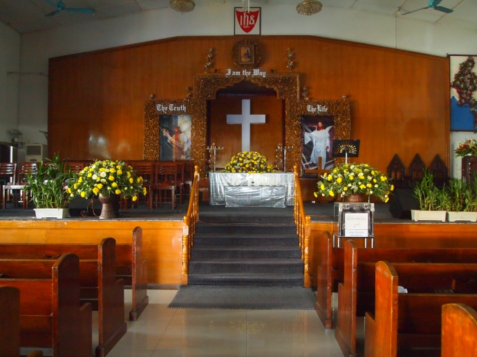inside Immanuel Baptist Church