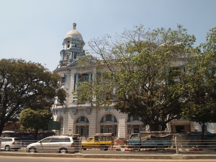colonial architecture of Yangon