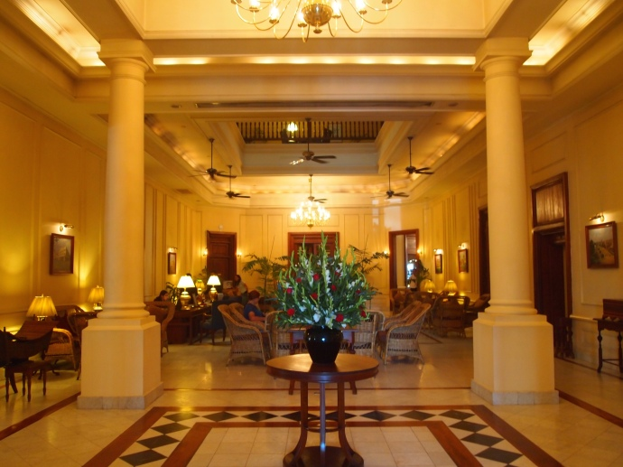 Inside the Strand Hotel