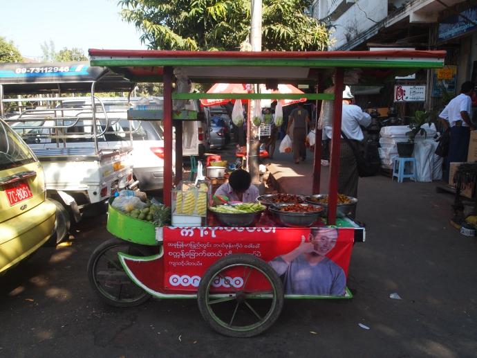 vendor's cart