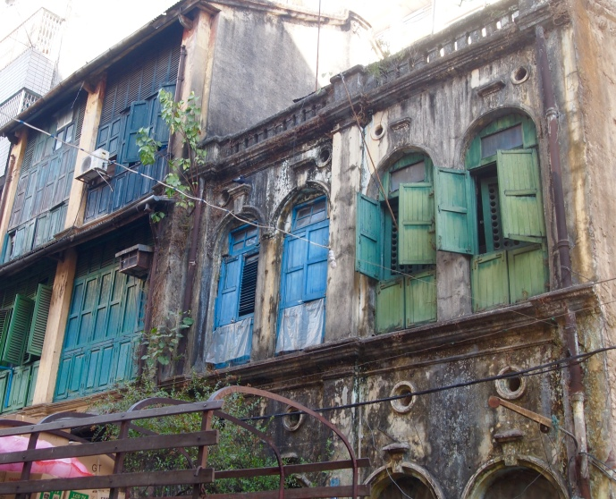 more faded colonial architecture